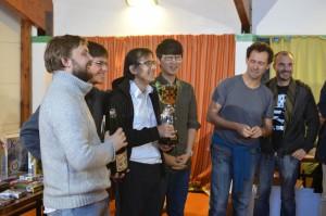 Grenoble, vainqueur de la Coupe Maître Lim 2014